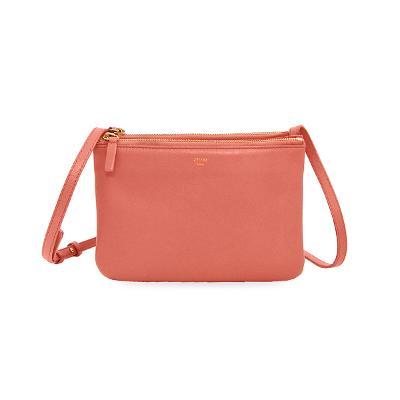 trio smooth bag pink
